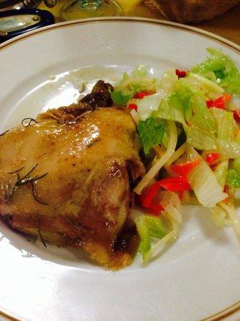 Hotel Terme Don Pepe: Pollo,insalata e giardiniera!!!