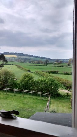 Upper Letton Farmhouse: room with a view