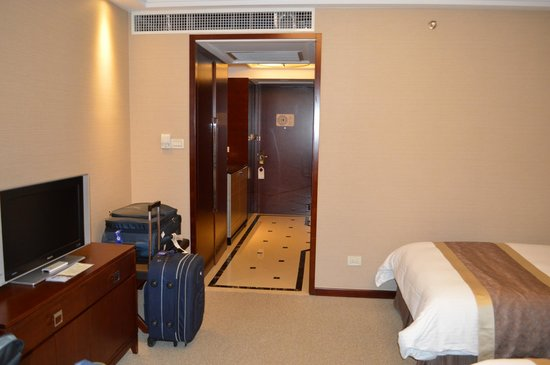 Central Hotel Shanghai: Our room