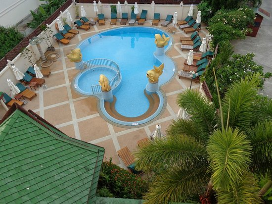 Krabi Heritage Hotel: petite piscine