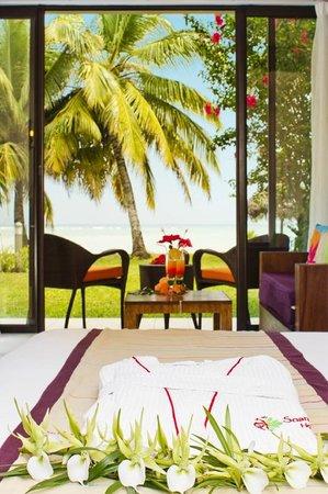 Soanambo Hotel: Vue sur le lagon - Overlooking the lagoon
