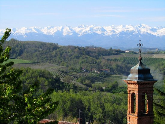 Agriturismo Bevione : To wake up in a post card!