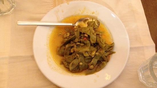 Havuzlu Restaurant: Haricots verts