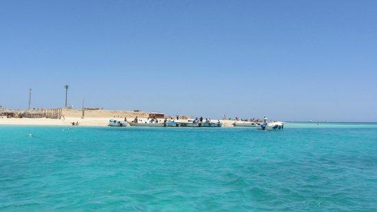 Îles Giftoun : Beach