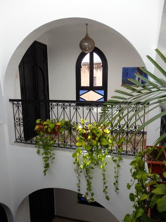 Lina Ryad & Spa : View into courtyard from our inside balcony