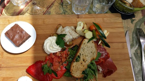 Le Patio : Plateau repas