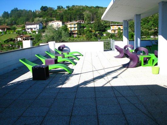 Hotel Le Palme: Sun roof