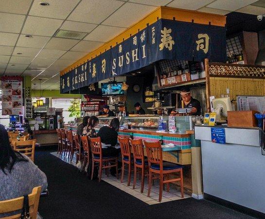 Minato Sushi: Prep Area