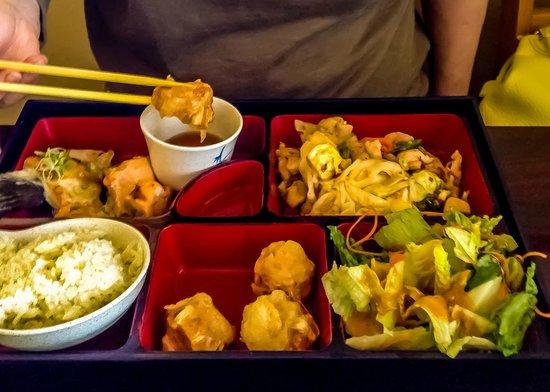 Minato Sushi: Combo Box