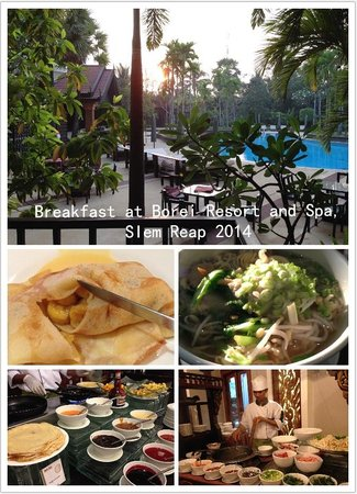 Borei Angkor Resort & Spa : breakfast, Borei Resort and Spa