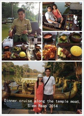 Borei Angkor Resort & Spa : Sunset dinner cruise, Siem Reap