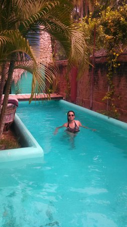 Hacienda La Rusa B&B : clases de natación