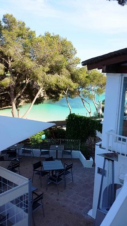 Hotel Cala d'Or: View from restaurant and rooms