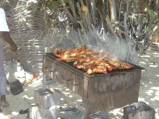 Andilana Beach Resort : Pranzo escursione Nosy Iranja