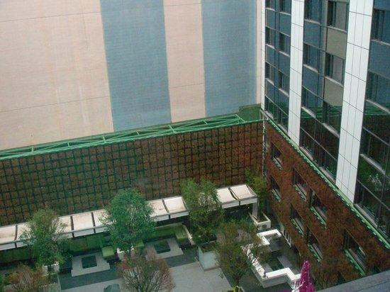 The Mira Hong Kong: view from room