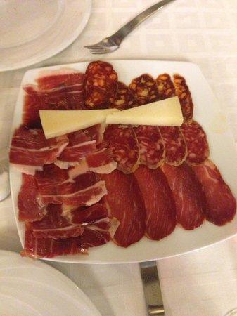 Restaurante La Solera : Chacina