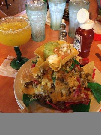Blue Iguana: nachos