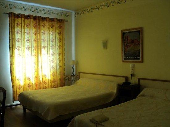 Hotel du Forum: De kamer
