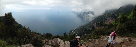 Sentiero degli dei (Path of the Gods): what a view