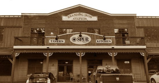 The Spur Tavern & Kitchen is located inside the Branding Iron Station