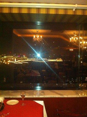 Capital Hotel Beijing: restaurant panoramique