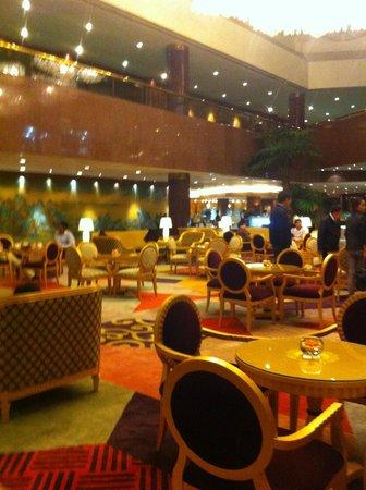 Capital Hotel Beijing: le salon du bar
