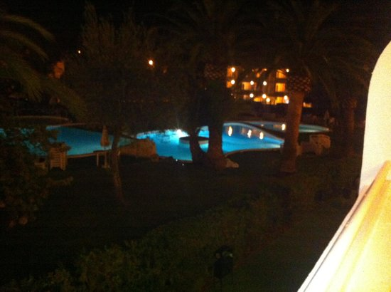 Jutlandia Family Resort: Piscine de nuit !