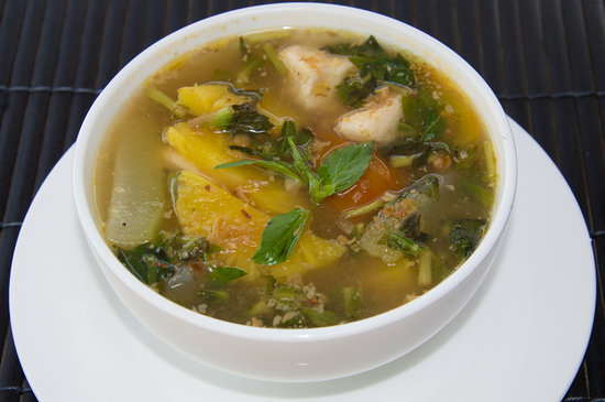 The Secret by Veranda Natural Resort: Vietnamese Sour Seafood Soup