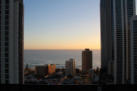 Mantra Circle on Cavill: sunset on the goldcoast