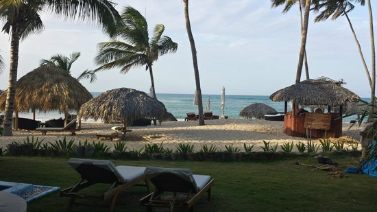Zoetry Agua Punta Cana : View from our ocean front room