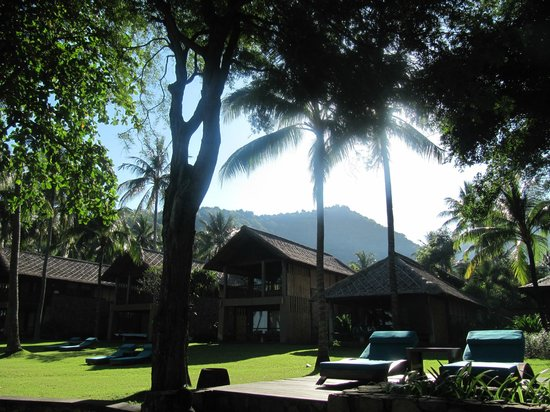 Jeeva Klui Resort: View from the beach - hotel grounds