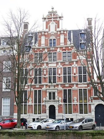 Emperor's Canal (Keizersgracht) : House with heads, keizersgracht 123