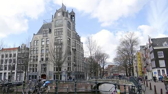 Emperor's Canal (Keizersgracht): Astoria Building at Keizersgracht 174-176