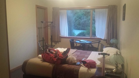 Aoraki Mount Cook Alpine Lodge: My cozy room