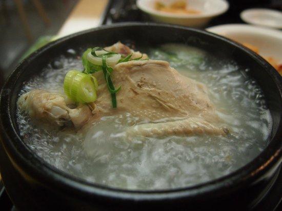 Migabon : Gingseng chicken in boiling soup