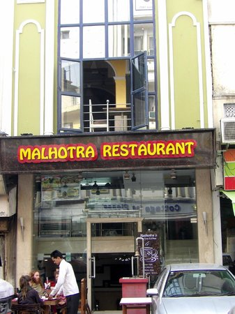 Malhotra Restaurant : its was ok