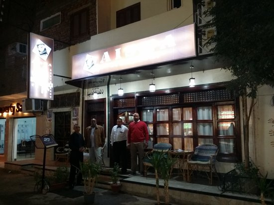 Aisha Restaurant : The staff looks formal here, but is on the contrary very friendly and welcoming