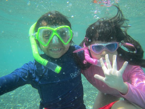 Tamarindo Beach: under the sea