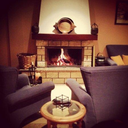 Hotel Casa Mino : Sala de estar del hotel