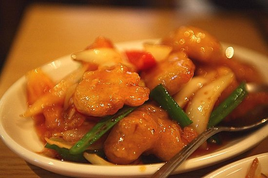 Maekong Thai: Sweet and sour battered pork.
