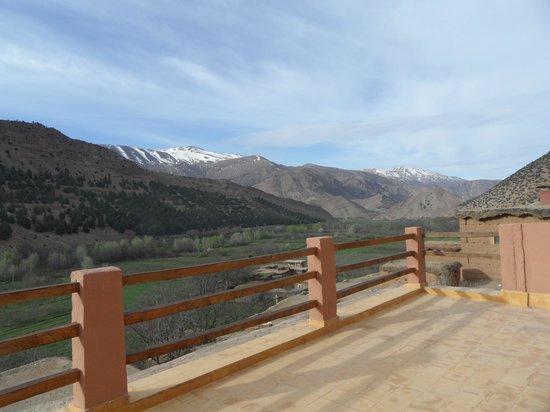 Gite Tigmi Azrur : Panorama dalla terrazza del rifugio