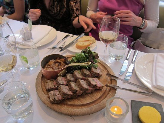 lamb three ways - picture of chiswell street dining rooms