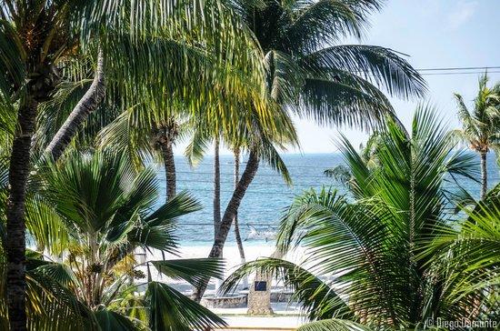 Hotel Posada Del Mar : Hermosa Vista desde el Balcon
