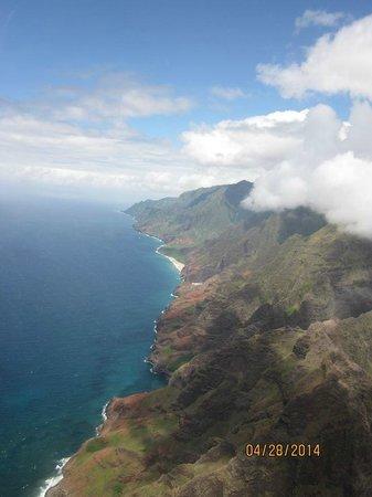 Blue Hawaiian Helicopters - Kauai : The beautiful coastline