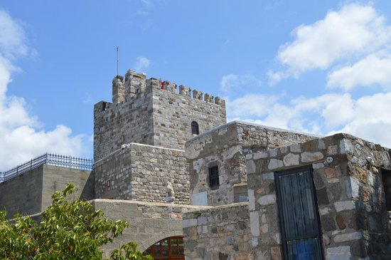 Bodrum Museum of Underwater Archaeology: Castle Views