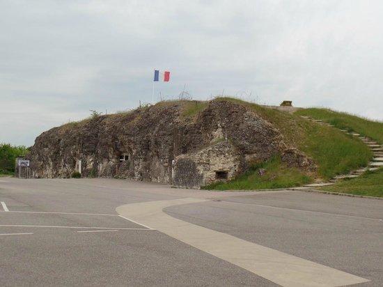Champ de bataille de Verdun : Fort de Vaux