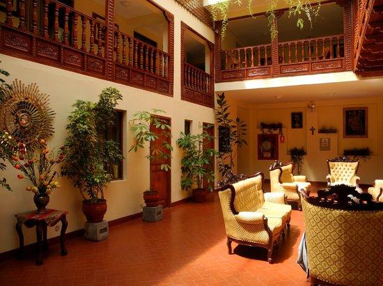 Siete Ventanas Hotel: hall