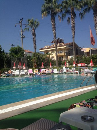 Club Atrium Apartments: One of the three pools