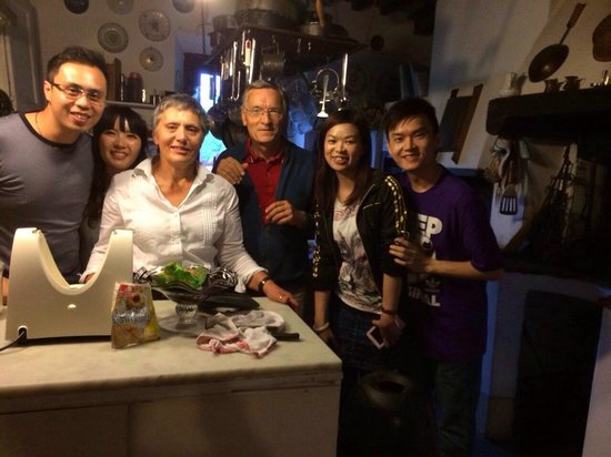 Casale Il Caggio: Had a great cooking class, thank Gabriella and Paolo!!