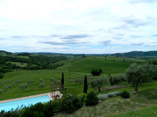 Quercia Rossa Farmhouse : Panorama mozzafiato
